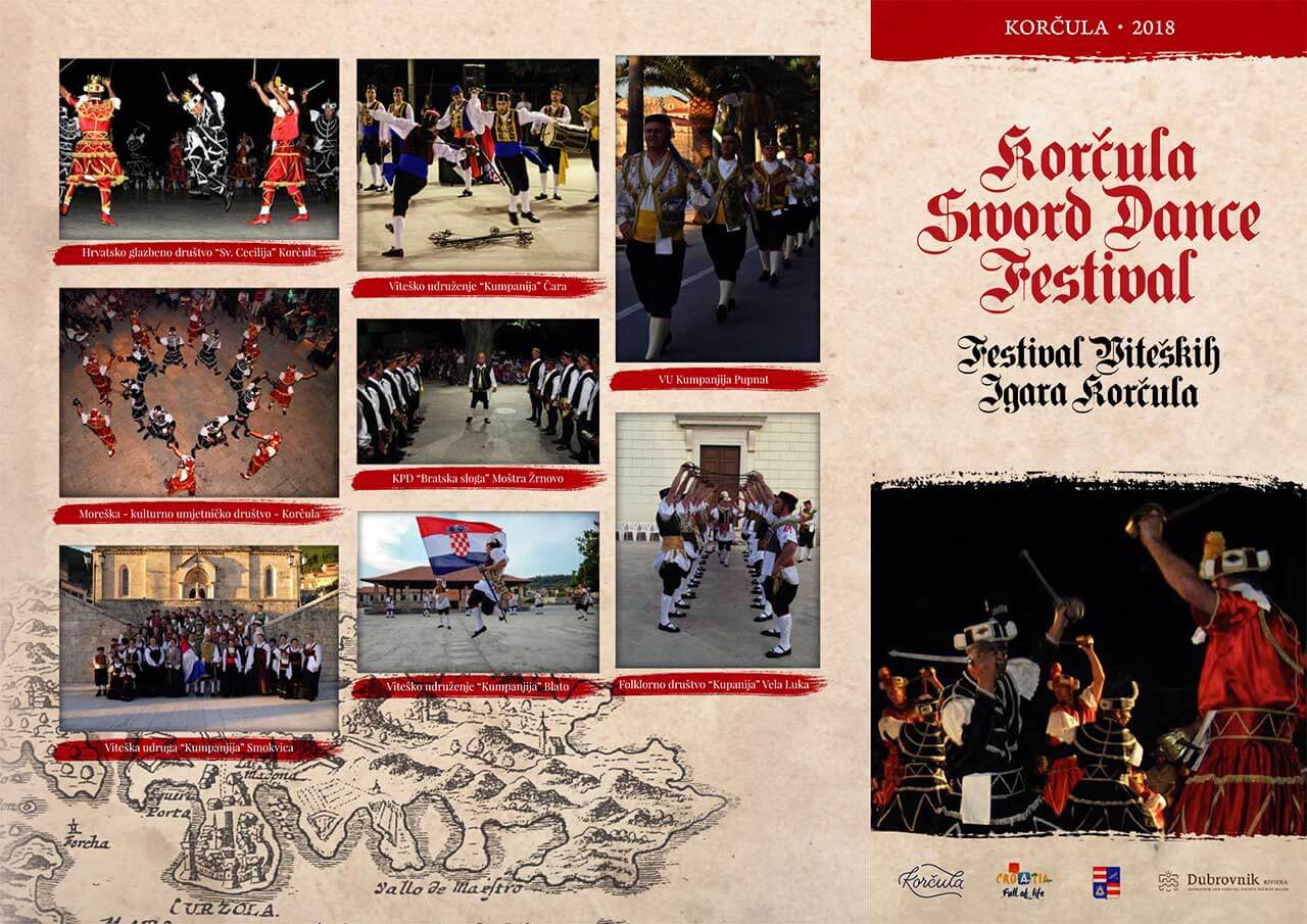 Festival de Moreska Korcula programme 2018