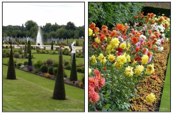Hampton court Fontaine et jardin