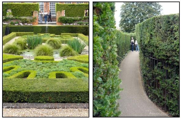 Hampton court palace balade dans les jardins