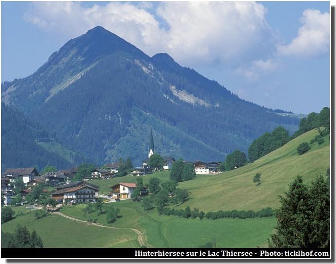 Lac thiersee beau lac dans le tyrol en autriche h de munich - Office de tourisme munich ...