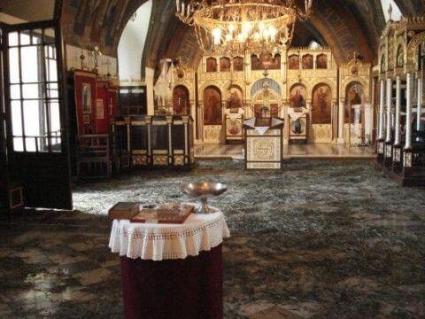 Intérieur de l'église Ruzica Belgrade