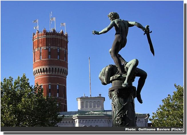 Kalmar statue