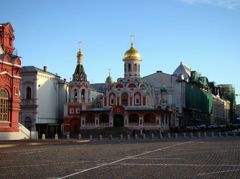 Kazan Cathédrale de L'icône De La Mère de Dieu