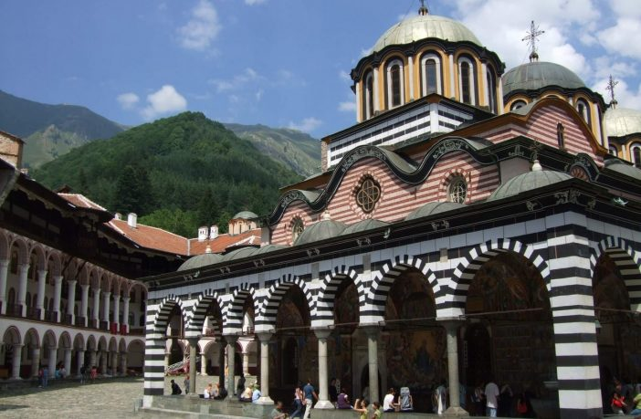 Monastère de Rila en Bulgarie