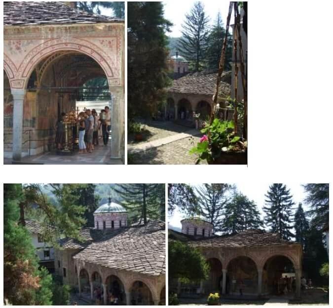 Monastère orthodoxe de Trojan en Bulgarie