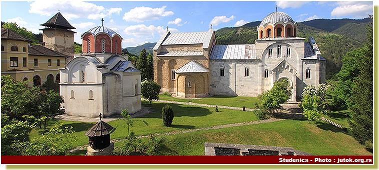 Monastere serbe orthodoxe Studenica