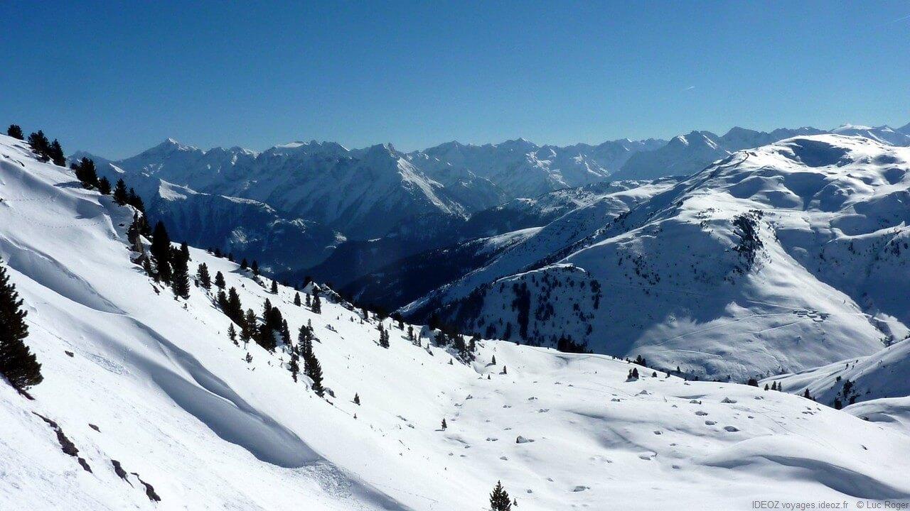 Montagnes à Zillertal