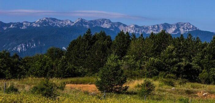 Montagnes du Velebit en Croatie