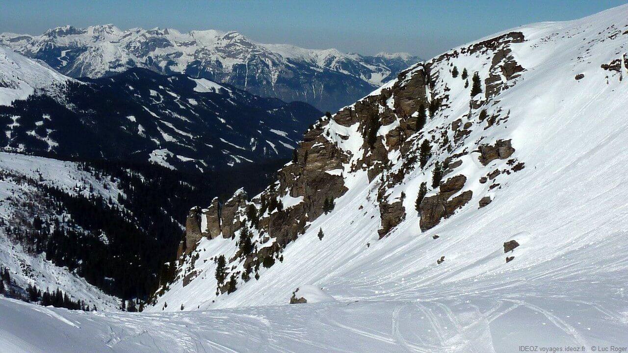 Montagnes du Zillertal au Tyrol