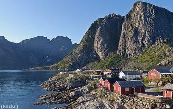 Moskenesoya Lofoten norvege