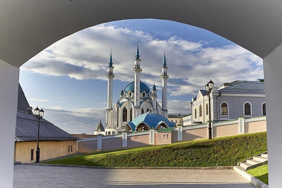 Mosquée Kul Sharif Kremlin de Kazan