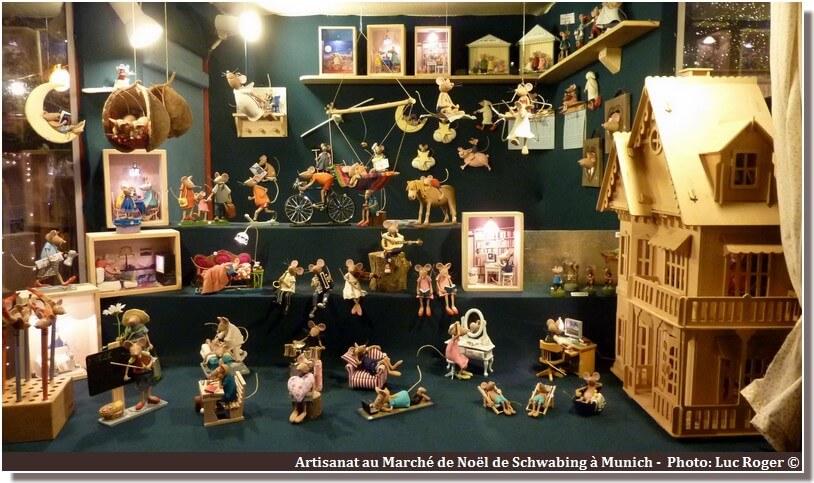 Munich Marché de noël produits artisanaux