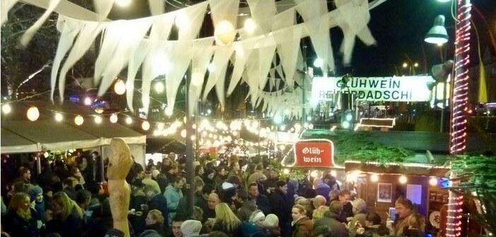 Marché de Noël de Schwabing à Munich (Schwabinger Weihnachtmarkt): branché et trendy