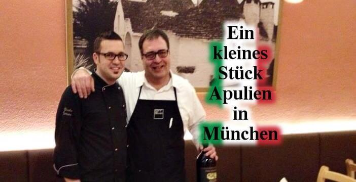 Restaurant L'Osteria Il Ritrovo à Munich ; excellent rapport qualité prix
