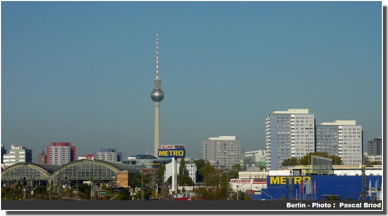 Panorama Berlin moderne