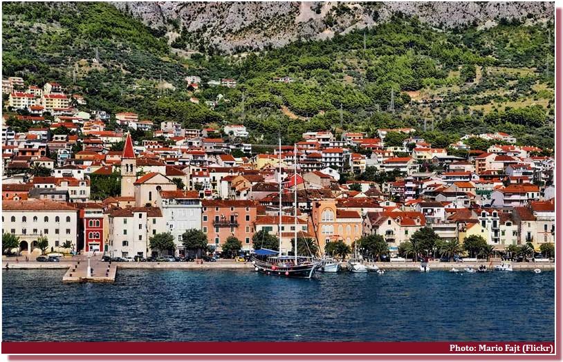 Panorama Makarska Croatie