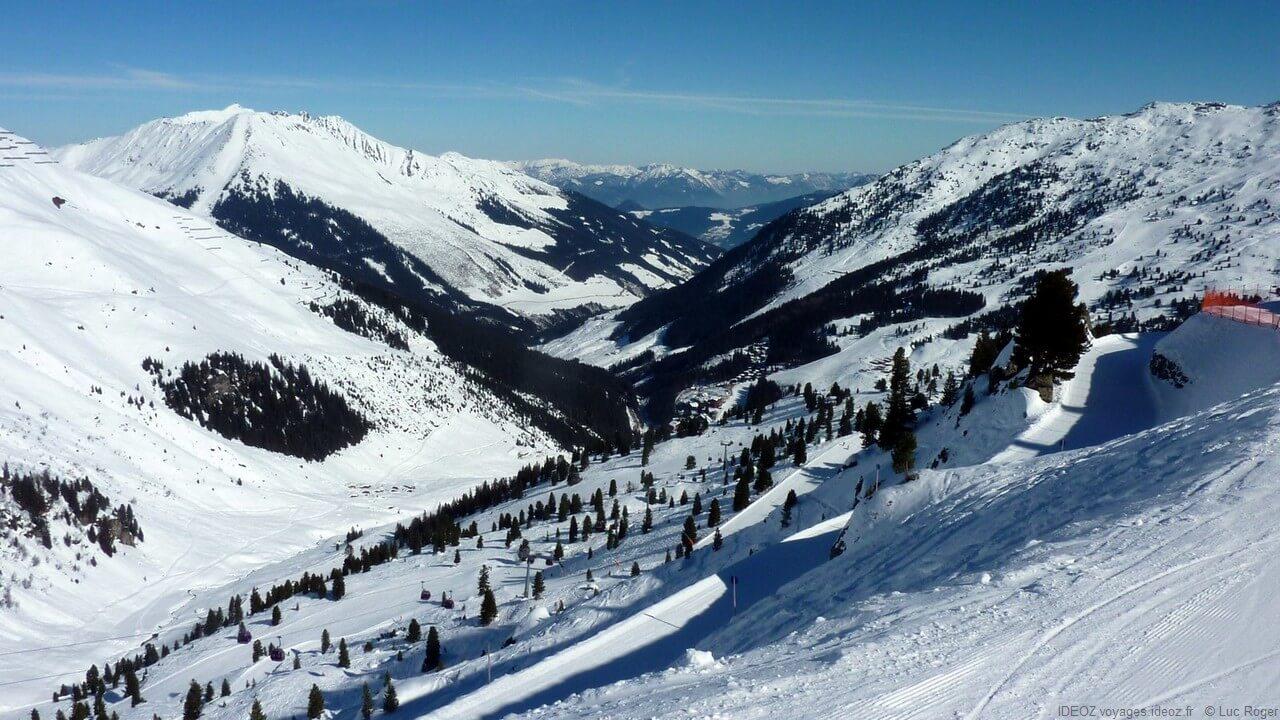 Piste de Zillertal au Tyrol