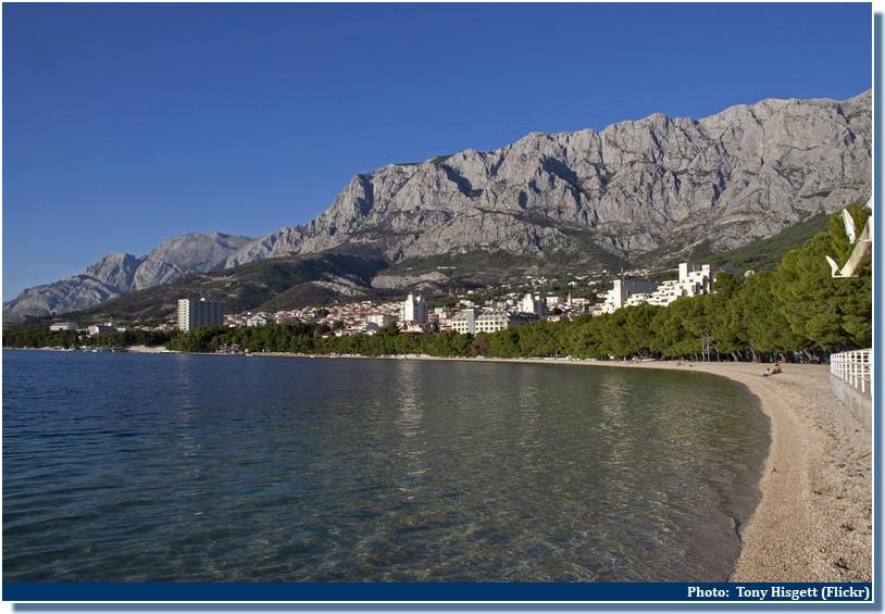 Plage Makarska