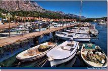 Port Makarska barques