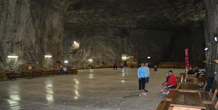 Saline de Praid (Transylvanie) ; l'une des plus grandes en Europe 2