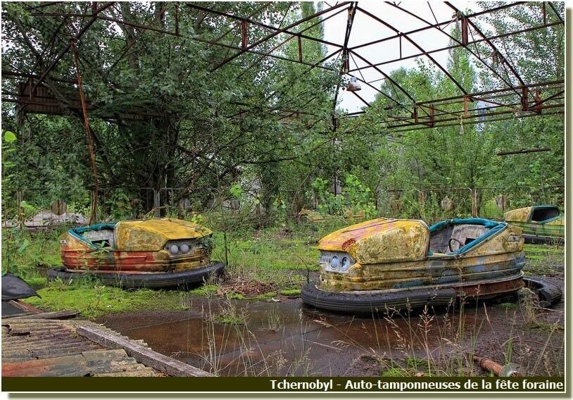 Pripyat auto tamponneuses