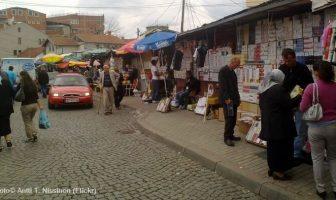 prishtina marché scène de rue