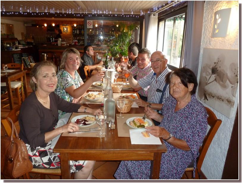 REPAS restaurant le moulin vert castelnaudary