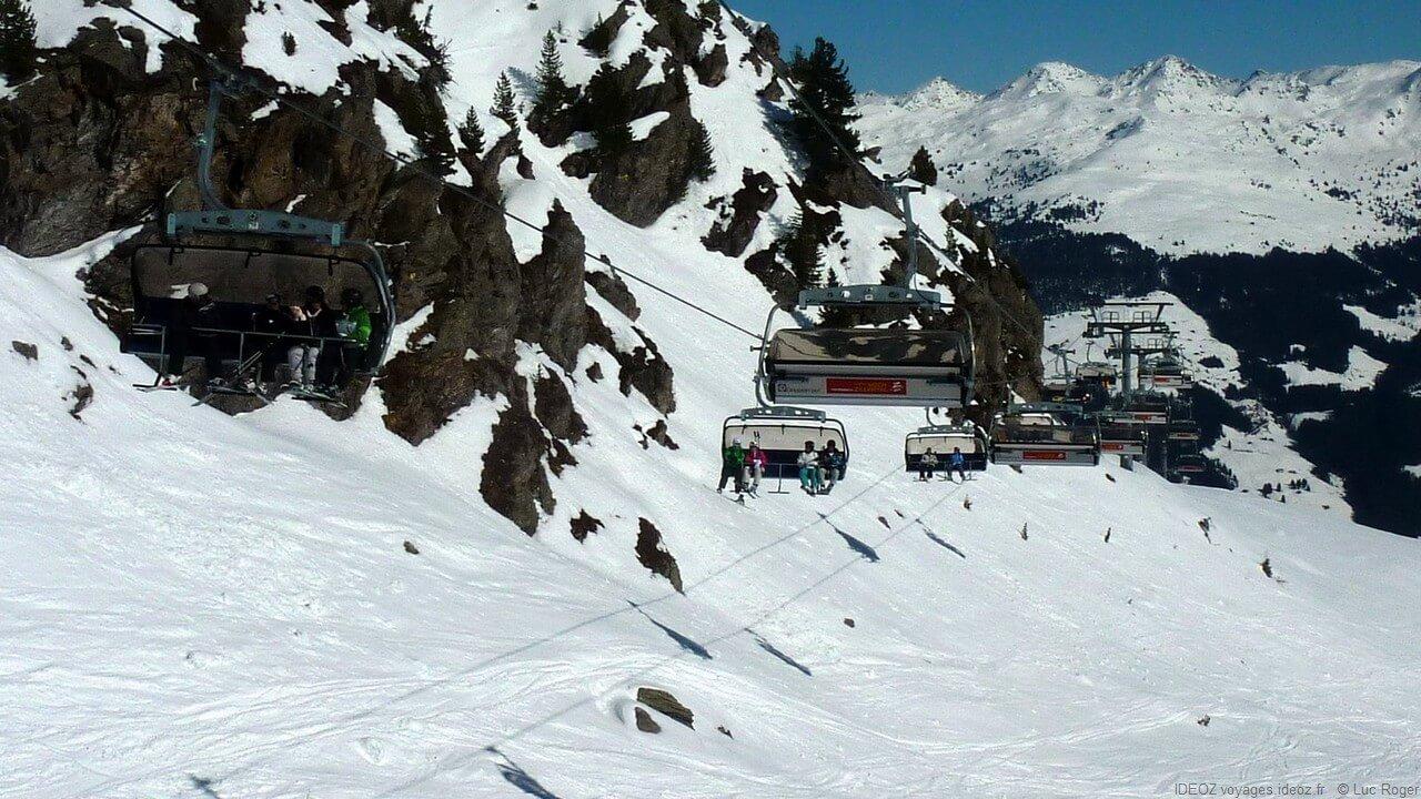 Remontée mécanique du Zillertal Tirol