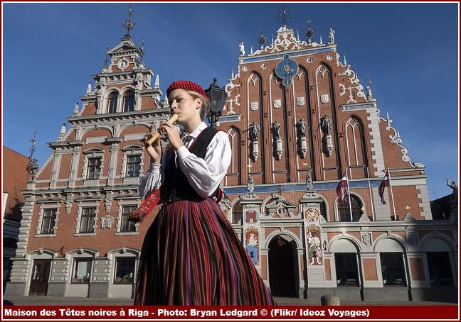Riga Maison des tetes noires