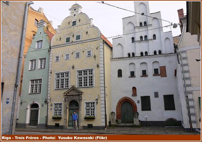 Riga Maisons Trois Freres