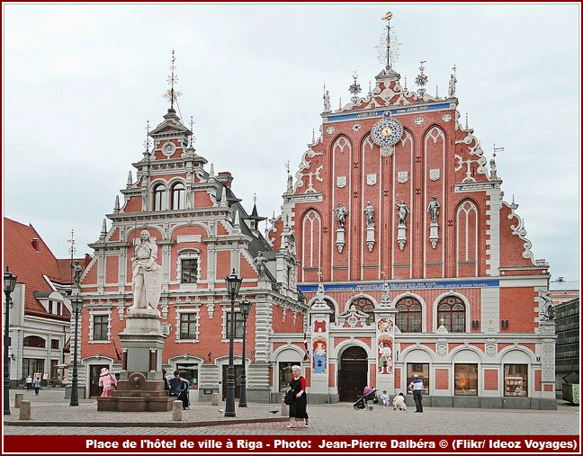 Riga Place de l'Hotel de ville
