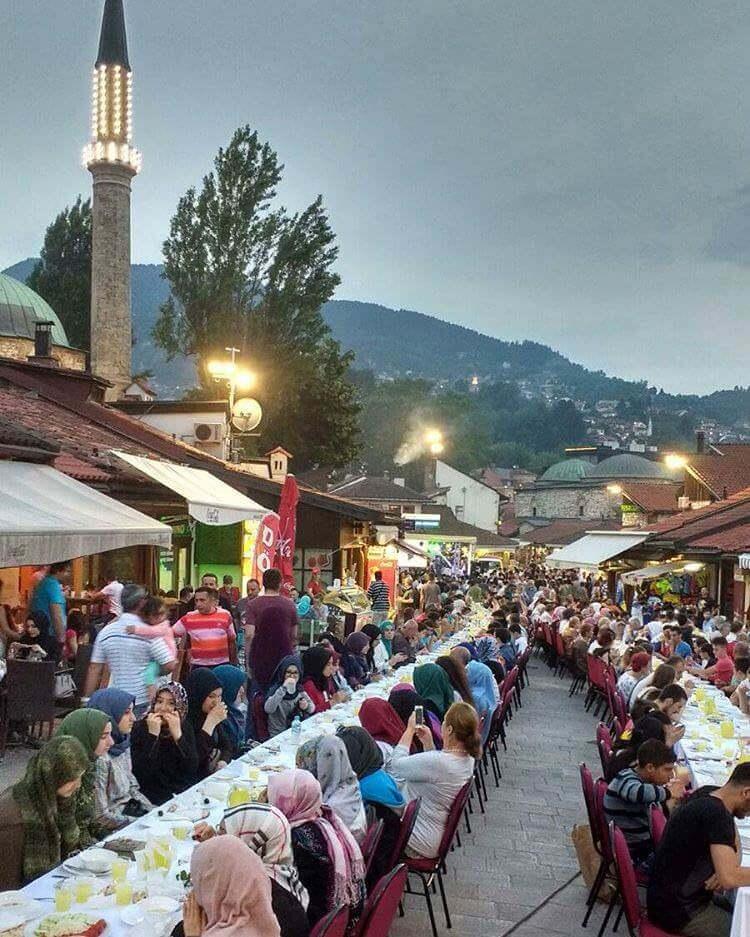 Sarajevo Iftar Ramadan