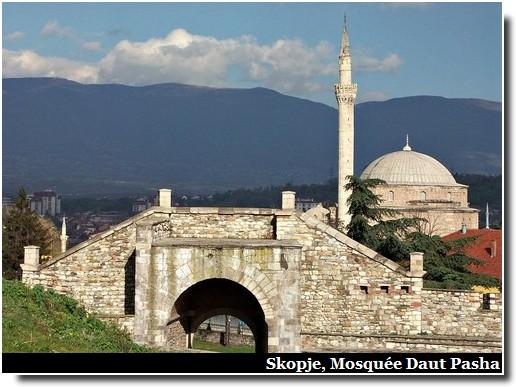 Skopje Mosquée Daut pasha