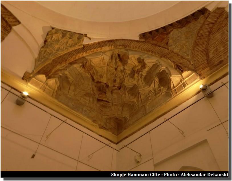Skopje cifte hammam décorations