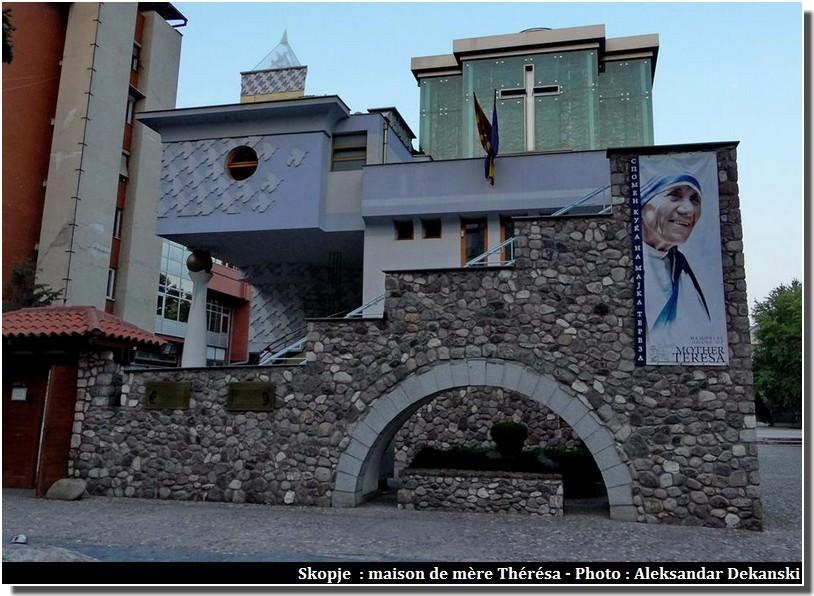 Skopje maison de mère thérésa