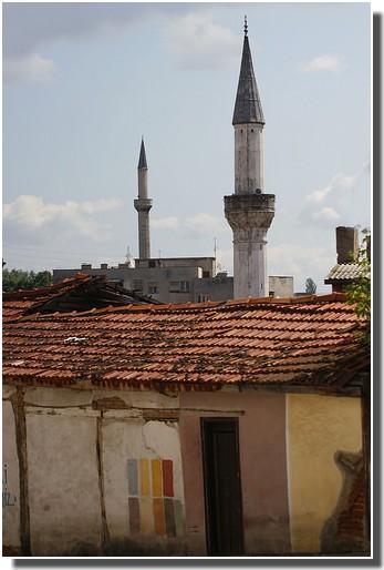 Skopje minarets