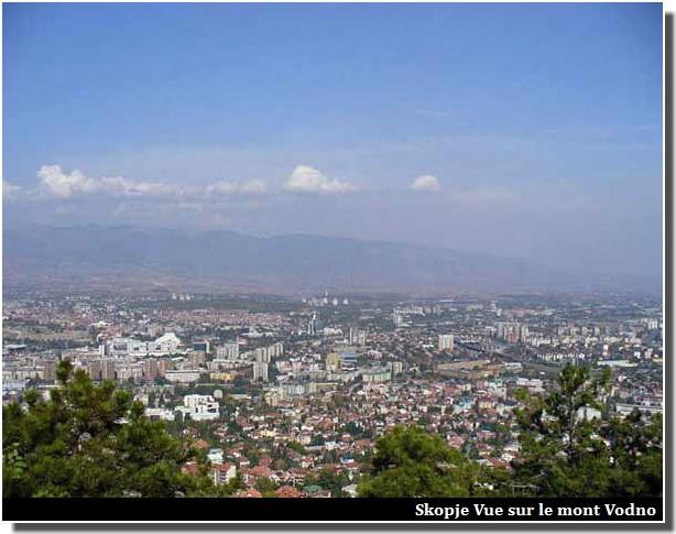 Skopje mont Vodno