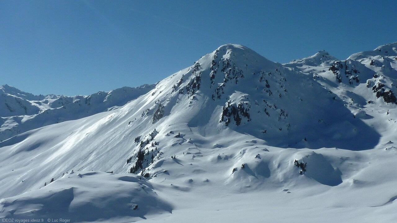 Sommet alpin à Zillertal