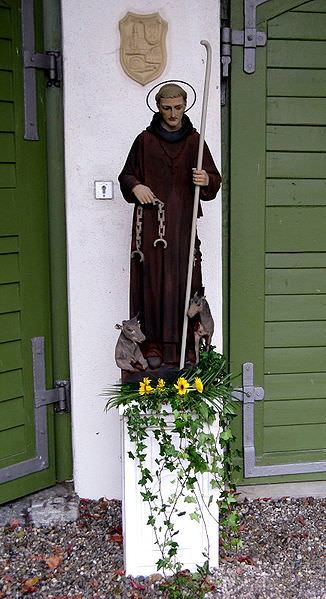 Statue de saint Léonard