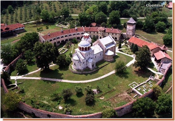 Studenica Monastere orthodoxe serbe