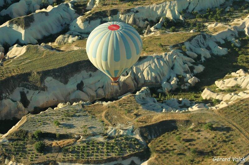 Survol de la Cappadoce en ballon