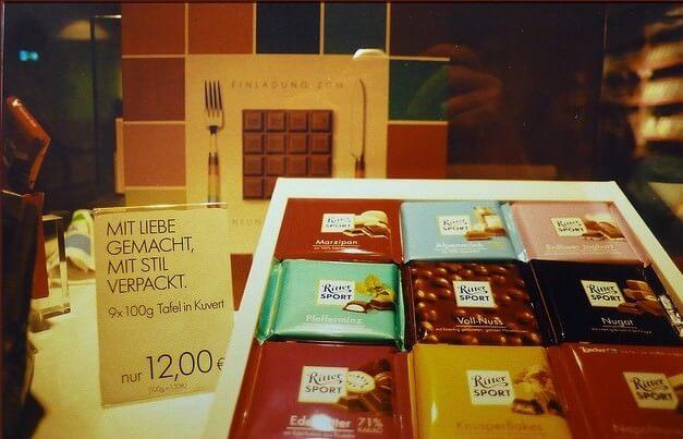 Tablettes chocolat ritter schokolade