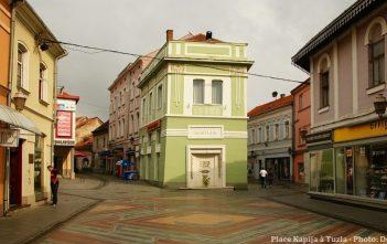 Tuzla place Kapija en bosnie herzegovine