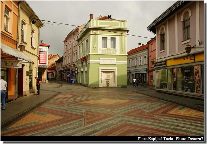 Tuzla place Kapija