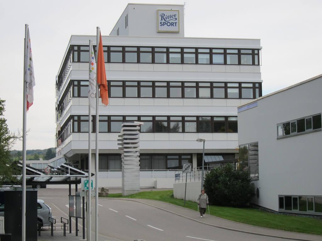Usine Ritter sport en Allemagne