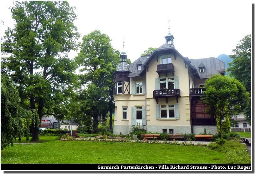 Villa Richard Strauss Garmisch Partenkirchen