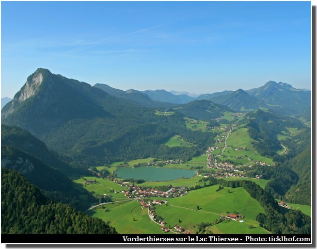 Vorderthiersee sur le lac Thiersee