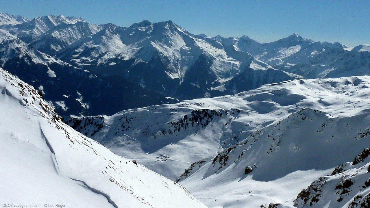 Zillertal Tyrol paysages enneigés
