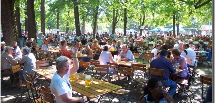 biergarten munich nymphenburg