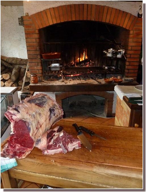 cote de boeuf restaurant le moulin vert castelnaudary